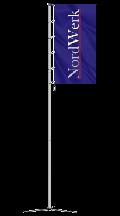 Мобильные алюминиевые секционные флагштоки